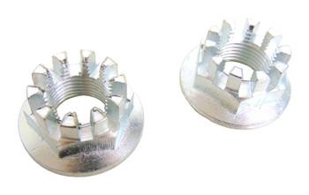 2 Rear Axle Hub Castle Crown Nut 18mmx1.50 86-89 for Honda TRX 350 350D Foreman