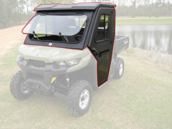 All Steel Complete Cab Enclosure System with Doors fits Can-Am 2016-20 Defender
