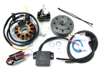 Powerdynamo MZ-B VAPE Ignition Stator System for Yamaha RD 350 400 Long Shaft DC
