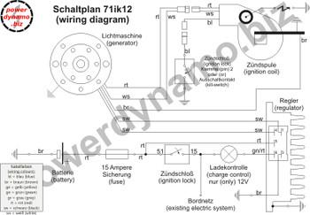 Powerdynamo VAPE Ignition Sys Stator for Yamaha 74-81 DT175 A B C Twin 26ozFlyDC
