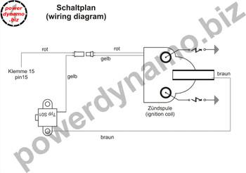 Powerdynamo MZ-B VAPE Ignition Only Stator fits JAWA 638-640 632 Tramp Chopper