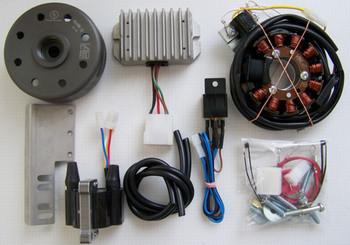 Powerdynamo VAPE Ignition System for Jawa CZ Twins 1964 360 1966-1975 361 362 DC
