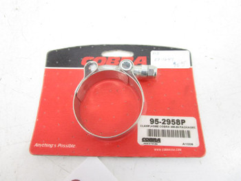 """Cobra 2.05"""" Stainless Steel Exhaust Clamp 95-2958P"""