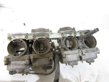 90 Kawasaki Ninja ZX6 C 600 Carburetors 15001-1357