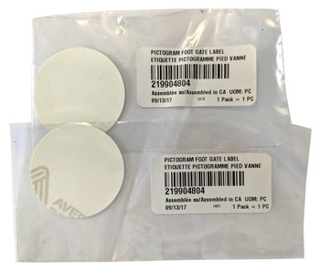 OEM for Sea Doo Lot of 2 Pictogram Foot Gate Label WAKE 155 170 Pro 215 230