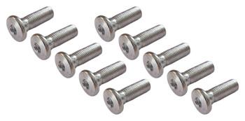Replacement CRU Sprocket Bolt M10 x 1.25 30mm Flat Head Allen Bolt Lot of 10