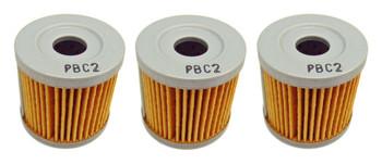 3 Emgo Oil Filter fits Kawasaki 2003 KLX 400 R SR KLX400R KLX400SR 16510-29F00