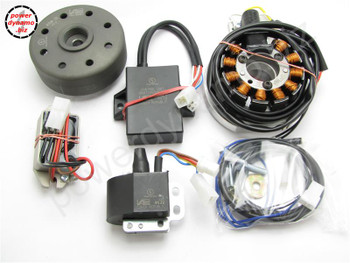 Powerdynamo MZ-B VAPE Ignition StatorSystem for Aermacchi 350 22mm Crank1Plug DC