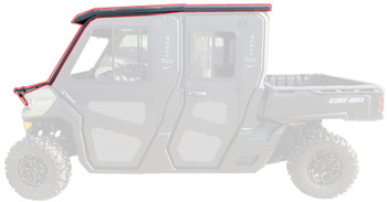 Steel Complete Cab Enc System NoDoor for Can Am Max 16-20 Defender Fold Down Frt