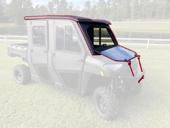 Steel Complete Cab Enclosure System NoDoor 14-20 for Bob Cat 3400XL 3400 XL Crew