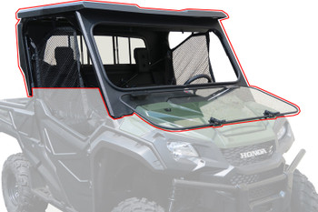 Steel Complete Cab Enclosure System No Doors 16-up Honda Pioneer SXS 1000 3 Seat