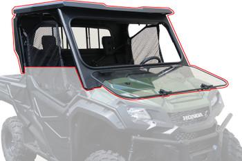 Steel Complete Cab Enclosure System No Doors 16-18 Honda Pioneer SXS 1000 3 Seat