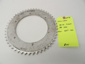 64511-40600 80 81 fits Suzuki PE 250 New Rear 50T-520 Sprocket #21
