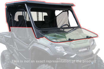 All Steel Complete Cab Enclosure System No Doors Honda Pioneer 700 2014-up