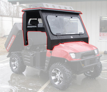 Steel Complete Cab Enclosure System No Doors Polaris Ranger 500 700 XP EFI 01-08