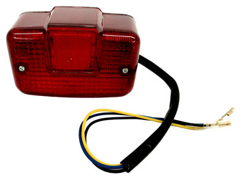 ATV UTV Taillight Lite Duel Filament 3 wire fits Honda Kawasaki Suzuki Yamaha