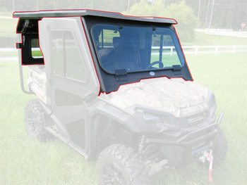 Steel Complete Cab Enclosure System No Doors 16-up Honda Pioneer SXS 1000 5 Seat