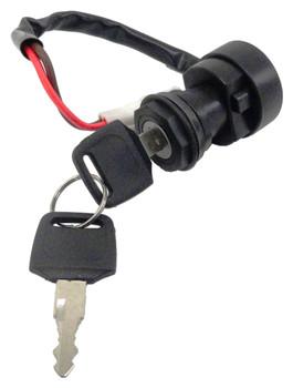 Ignition Key Switch fits Yamaha YFM 400 Big Bear Must Change/ Hardwire Connector