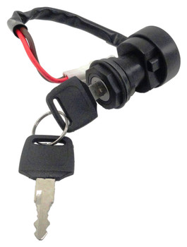 CRU Ignition Key Switch for Yamaha Grizzly YFM700 Must Change Hardwire Connector