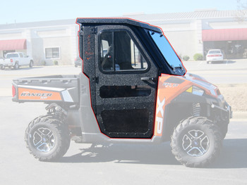 All Steel Complete Cab Enclosure w/ Doors Polaris 2015-19 Ranger ETX 500 Midsize