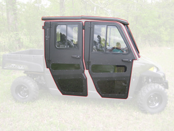 All Steel Complete Cab Enclosure with Doors 15-up for Polaris Ranger Crew 570 MS