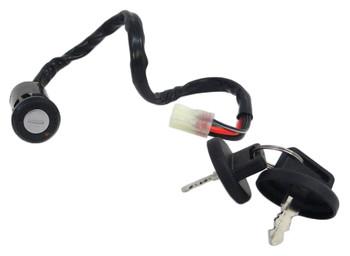 CRU Brand Key Ignition Switch fits Honda 04-09 TRX 450R 450 R Lifetime Warranty
