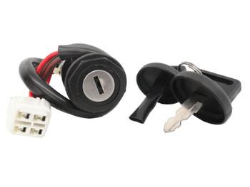 CRU Key Ignition Switch fits Yamaha YFM400 YFM 400 Kodiak Lifetime Warranty
