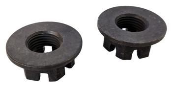 2 Front orRear Axle Hub CastleCrown Nut 16mmX1.50 93-06 for Yamaha Kodiak YFM450