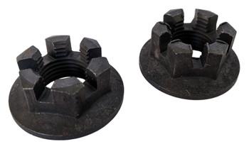 Qty2 Rear Axle Hub Castle Crown Nut 16mm x1.50 08-09 for Yamaha YFM 250 Big Bear