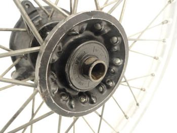 89 Honda CR 125  Front Wheel Rim Spokes Hub 21x1.60