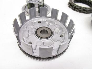 02 Suzuki LTF 400 Eiger 2wd  Clutch Inner Outer Basket Pressure Plate