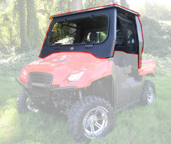 All Steel Complete Cab Enclosure System No Doors fits Honda Big Red 2009-2013
