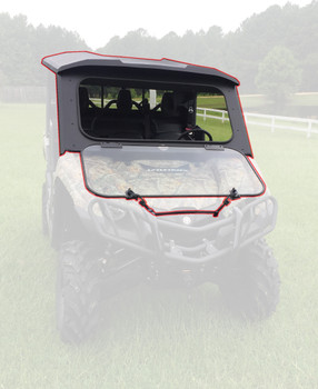 All Steel Complete Cab Enclosure System No Doors for Yamaha 2014-20 Viking 700