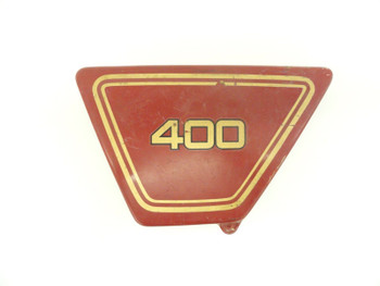 Yamaha XS 400 D XS 400 ZE XS 360 ZD Used Left Side Cover Plastic Panel Body AC9