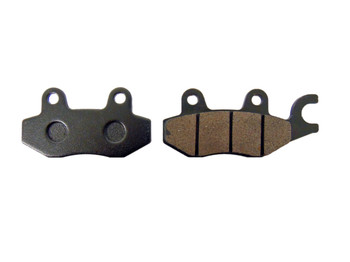 CRU Front Left Brake Pad for Kawasaki 15-17 KAF820 Mule Pro FXT FX ReplacesFA165