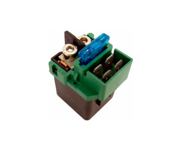 CRU Products Solenoid Starter Relay for Honda 02-07 CB900F 919 92-Up CN250 Helix