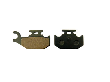 CRU Products Rear Brake Pads for Yamaha 2007-15 Raptor 700 YFM700 Replace FA428