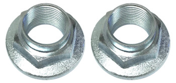 2 Front or Rear Axle HubPeen Crown Nut 20mmX1.50 for Yamaha 07-up Grizzly YFM700