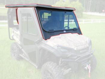Steel Cab Enclosure NoDoor Front Rear Roof 16-20 for Honda Pioneer SXS1000 5Seat