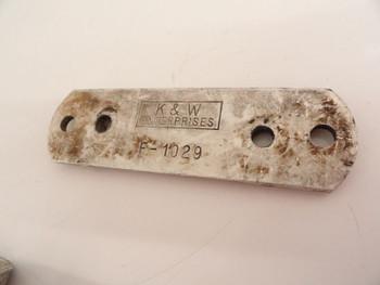 K & W F-1029 Fork Brace Support 6 7/8 Eye To Eye
