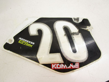 97 Honda CR 125 R #2  Front Number Plates Side Panels Covers Plastics