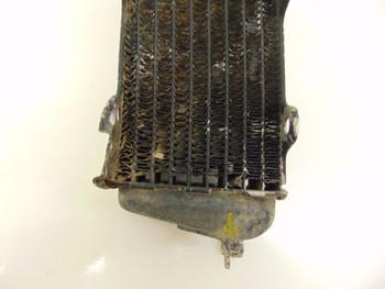 84 Honda CR125 CR 125  Engine Cooling Right Radiator 19010-KA3-731