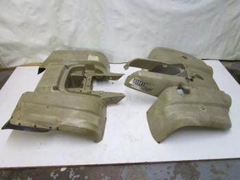 Z YAMAHA BIG BEAR 400 FRONT CV BOOT SHAFT GUARDS 00-06