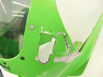 95 Kawasaki ZX6E ZX 600 E Ninja  Front Upper Plastic Fairing Cowl *Damaged*