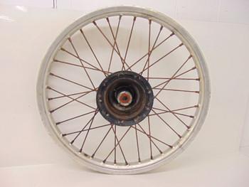 90 Honda XR 200 R  Front Wheel Rim Hub Spokes 44601-KK0-770