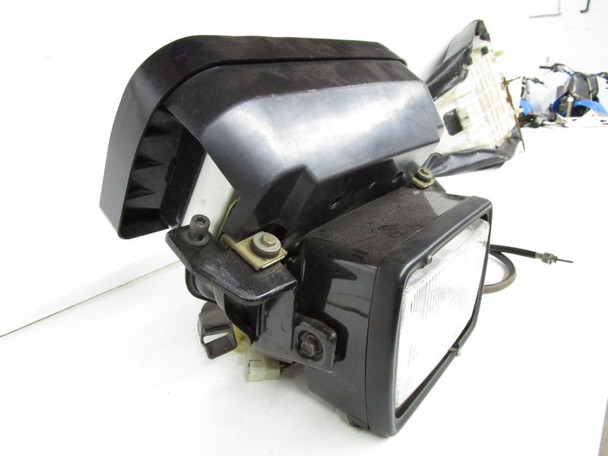 83 Yamaha XJ 650 L Seca Turbo used Speedometer Speedo Headlight 5k miles