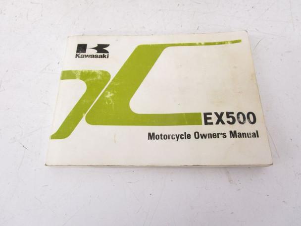 92 Kawasaki Ninja EX 500 Used Seat 53001-1519-MA