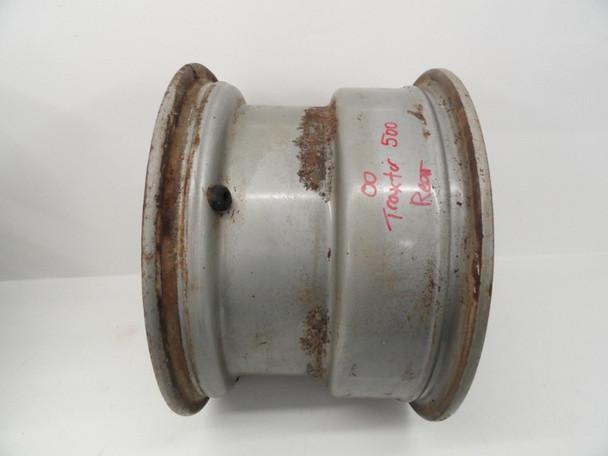 00 BombardierTraxter 500 4x4 7408 used Rear Wheel Rim 12x8.0 705500005