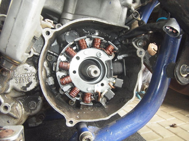 Powerdynamo VAPE Ignition Stator 73-80 for KTM 175 52 520 90mm OD Base DC System