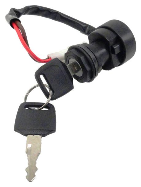 CRU Ignition Key Switch for Yamaha 2002-09 Wolverine 350 YFM350 Liftime Warranty